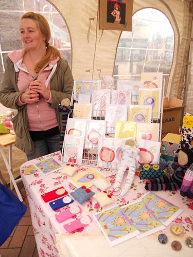 Fi & Me - craft fair stall