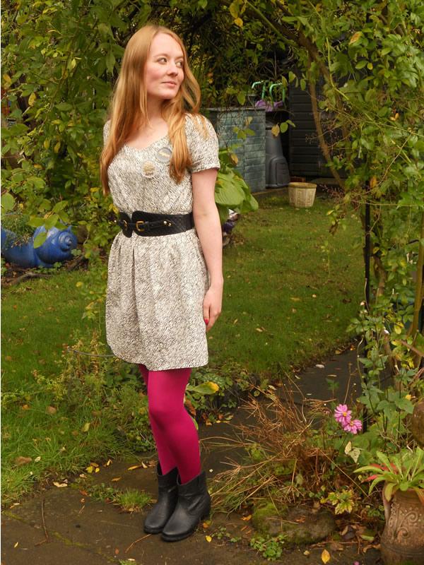 Pink Leggings Dress