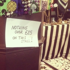 Vintage £25 and less at Judy's Vintage Fair Manchester
