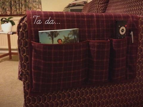 Father S Day Diy Sofa Organiser Fi Amp Me