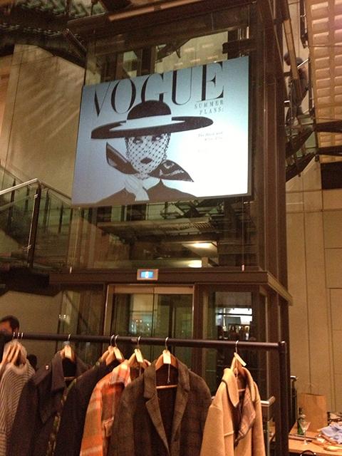 Vogue Fashion's Night Out - vintage Vogue cover