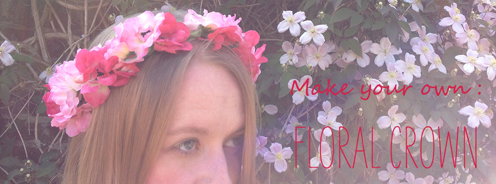 Floral crown DIY | Fabric flower crown | Fi & Me