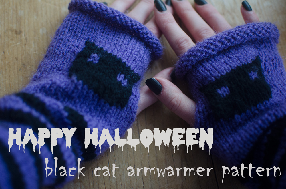 black-cat-armwarmer-pattern